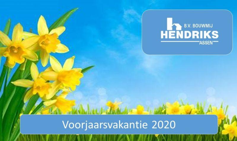 Voorjaarsvakantie 2020