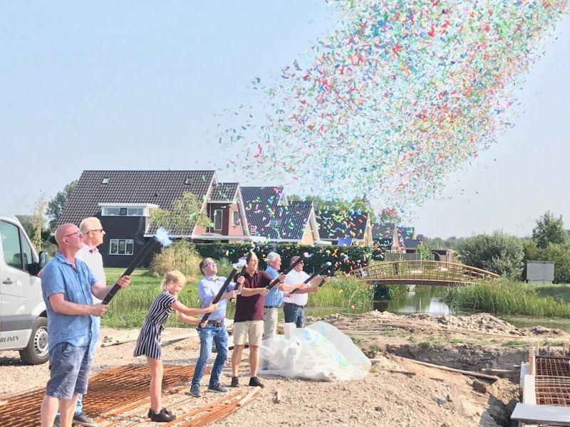Officiële start nieuwbouw 16 appartementen Wolvega