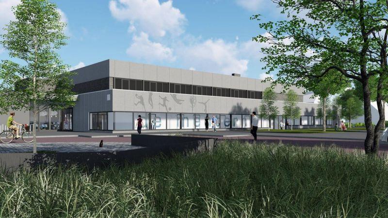 Nieuwbouw sporthal Muntendam