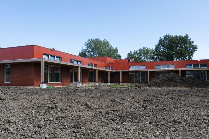 Een kijkje op de bouw in Spijk!