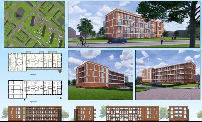 Nieuwbouw 22 appartementen in Assen nu officieel in opdracht