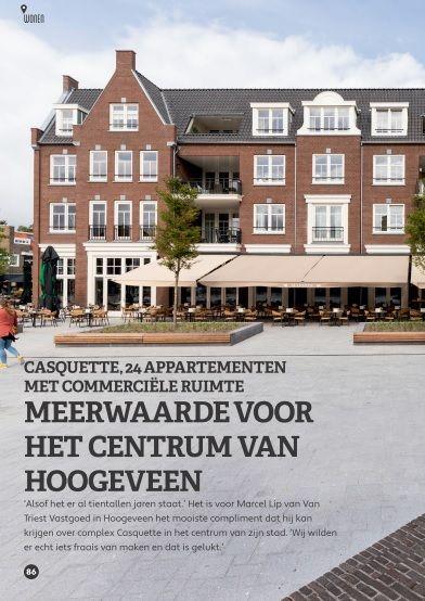 Casquette, meerwaarde voor het centrum van Hoogeveen