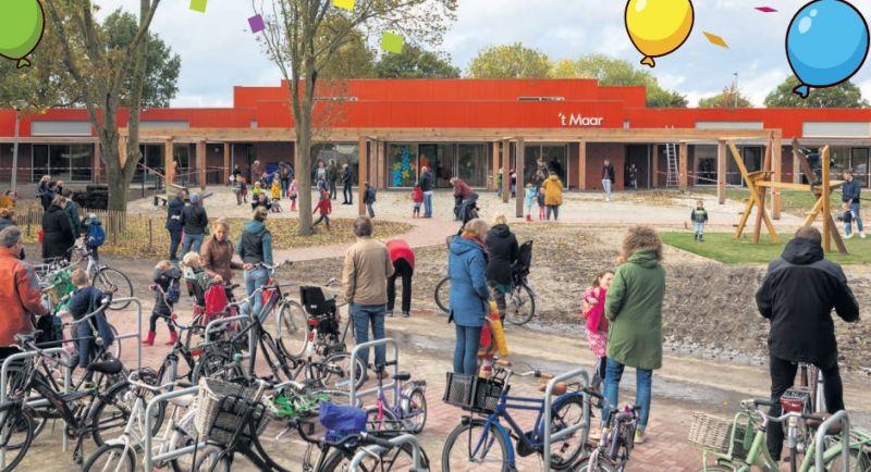 Een digitaal kijkje in het nieuwe Kindcentrum 't Maar in Spijk