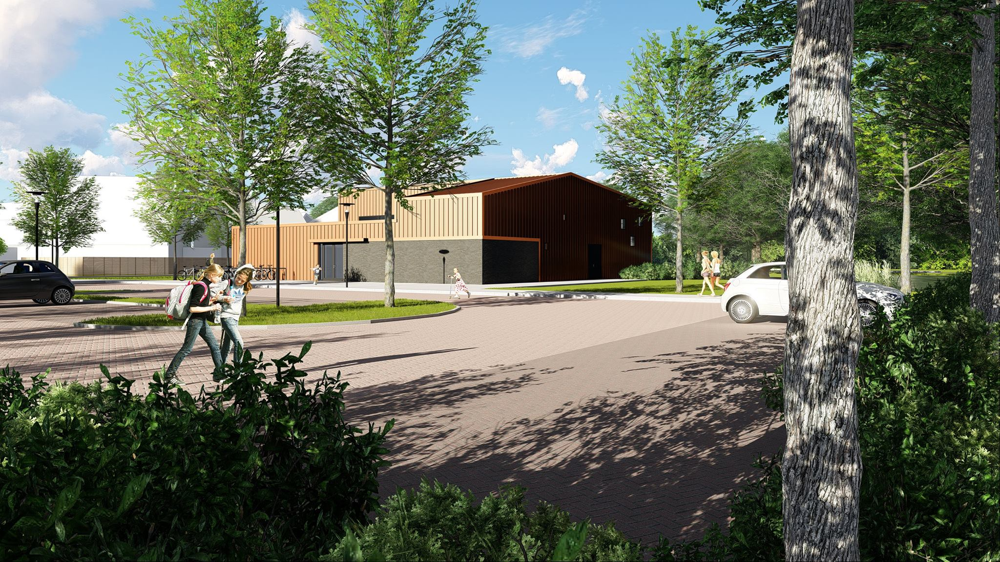 Design & build sporthal De Waring Drachten